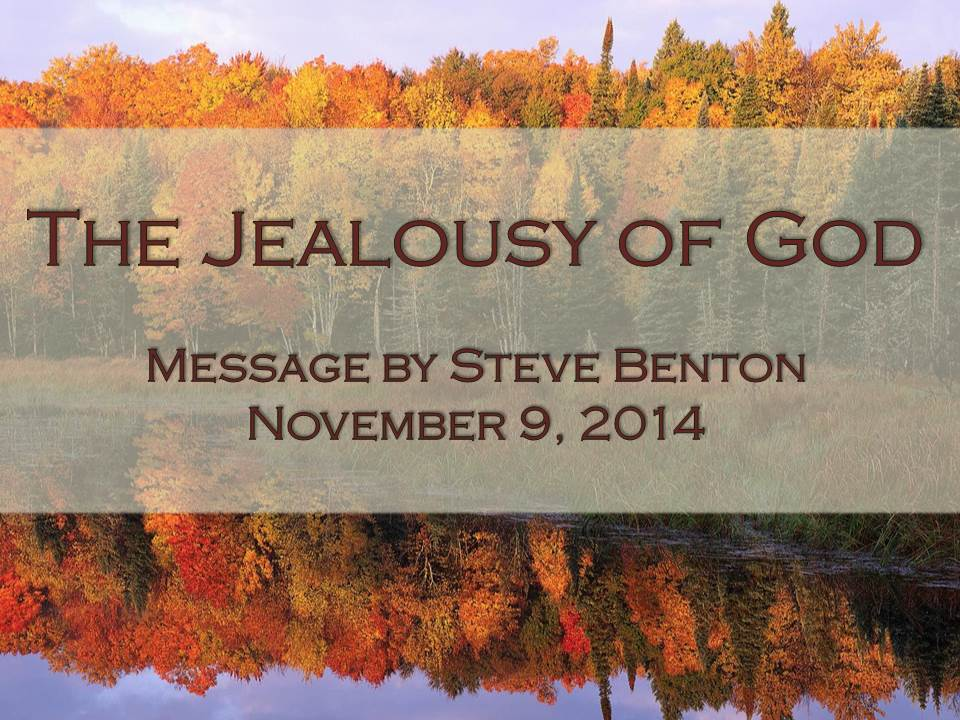 The Jealousy of God