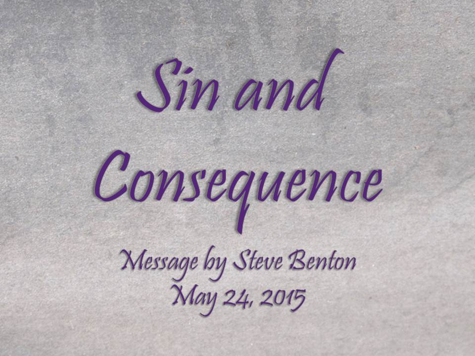 Sin and Consequence