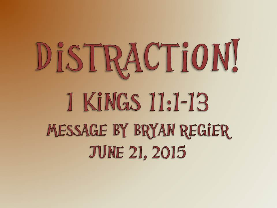 """""""Distraction!"""""""