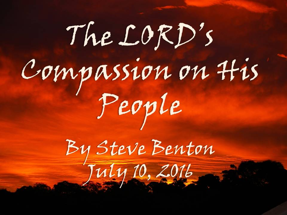 The LORD's Compassion on His People