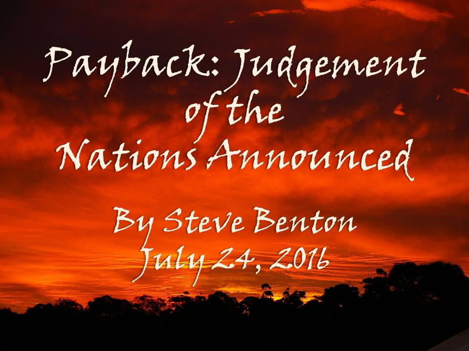 Payback: Judgement of the Nations Announced
