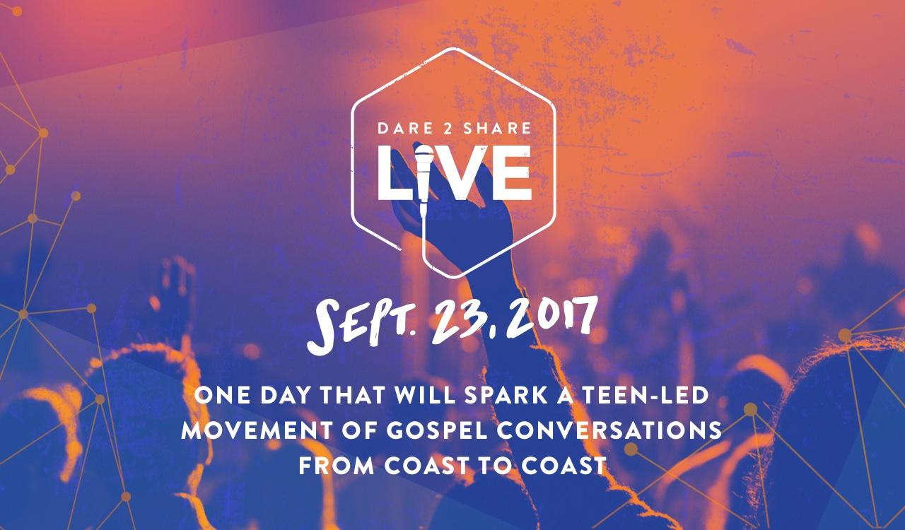 Dare 2 Share LIVE! Sept. 23