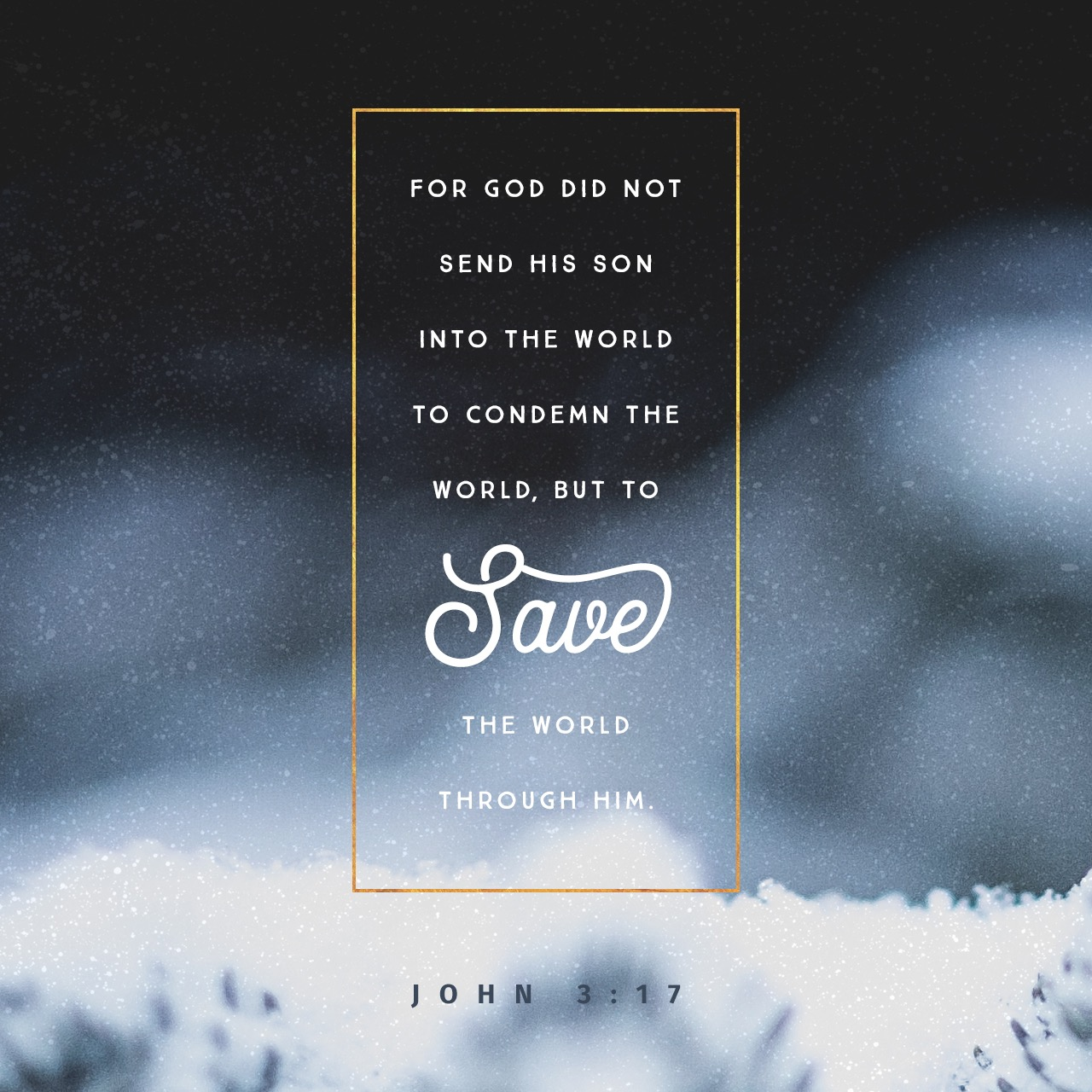 Protected: Day 18: John 3:17