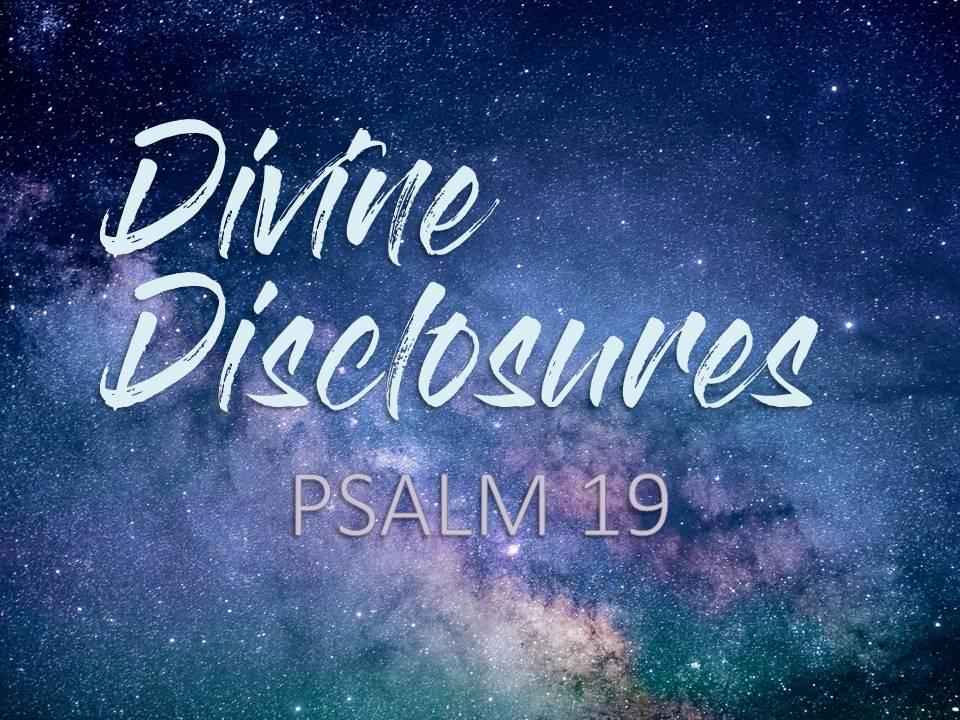 Divine Disclosures