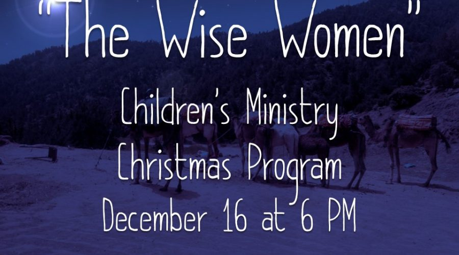 2018 Children's Christmas Program