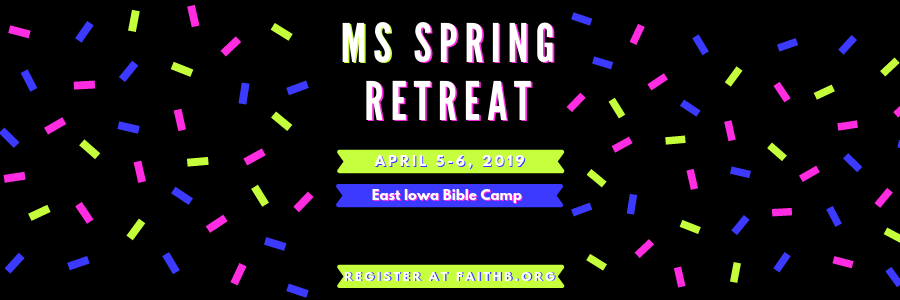 2019 MS Spring Retreat