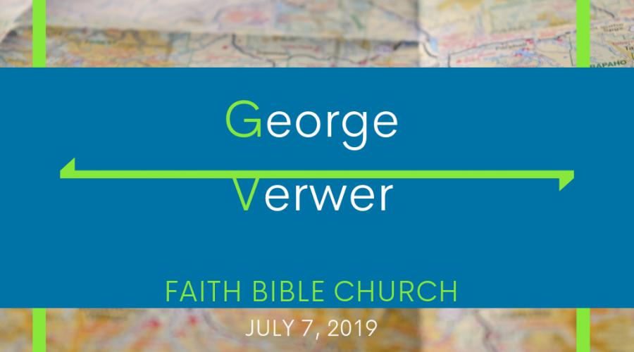 July 7 – George Verwer